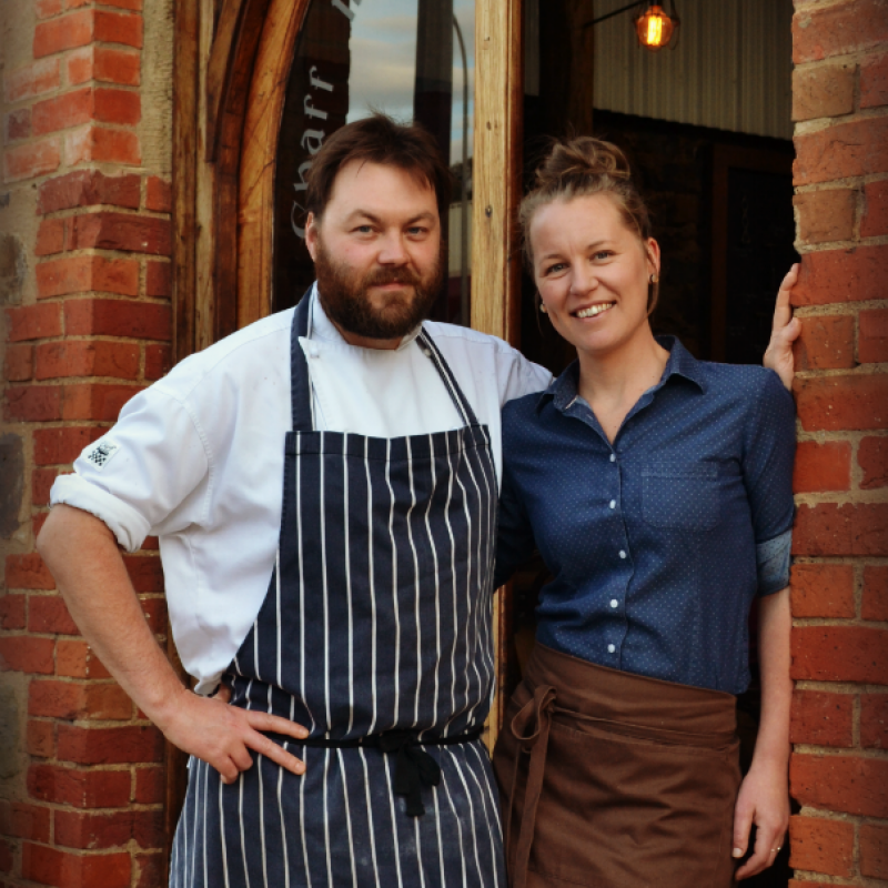 Guy Parkinson and Candice Leighton Seed Winebar + Kitchen