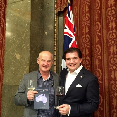 "LEADING UK WINE WRITER MATTHEW JUKES NAMES  JIM BARRY ""WINERY OF THE YEAR"""