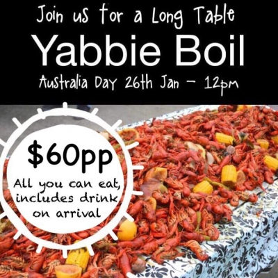 Long Table Yabbie Boil