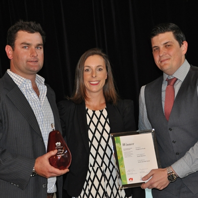 Winners at the recent Brand SA Regional Awards -  Yorke and Mid North,  Pangkarra Foods